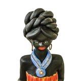 Czarny Afrykanin kobiety rzeźba Fotografia Royalty Free