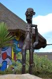 Czarny Afrykanin statua Zdjęcie Stock