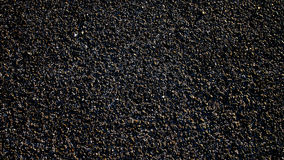 Czarny asfalt Fotografia Royalty Free