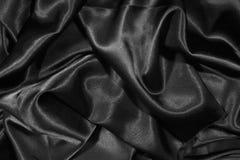 czarny atłasowa struktura Obrazy Royalty Free