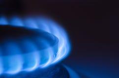 czarny błękitny paliwowego gazu naturalna drymba Obraz Stock