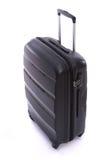 Czarny bagaż odizolowywający fotografia royalty free