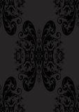czarny bezszwowa tapeta Fotografia Royalty Free