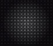 czarny bezszwowa tapeta Obrazy Stock
