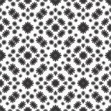 CZARNY BEZSZWOWY BIAŁY tło wzór obrazy stock