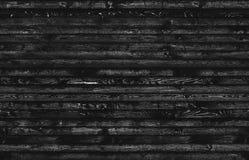 Czarny bezszwowy drewno Obraz Royalty Free