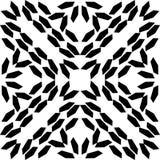 Czarny Bezszwowy kropka wzór w Białym tle zdjęcia royalty free