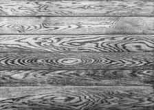 Czarny biały tło z drewnianą deski teksturą fotografia royalty free