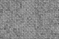 Czarny & biały rattan wyplatający maty wzór, tło lub tekstura dla projekta, ilustracja wektor