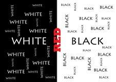 czarny biel Obrazy Stock