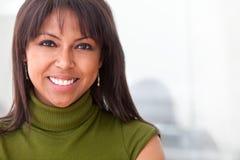 czarny biznesowa kobieta Obrazy Royalty Free