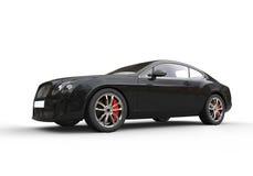 Czarny Biznesowy samochód Fotografia Royalty Free