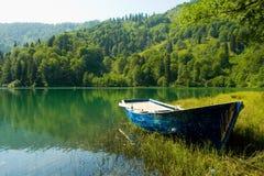 czarny borcka jeziora Obrazy Royalty Free