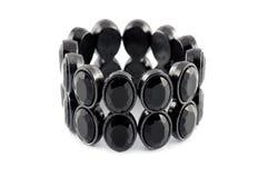 czarny bransoletka Fotografia Stock