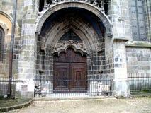czarny Brasov kościoła Romania Obrazy Stock