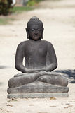 czarny Buddha Obrazy Stock