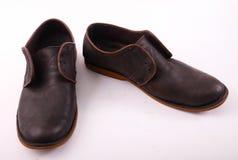 Czarny buta zakończenie up Obraz Stock