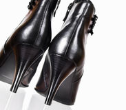 czarny buty fotografia royalty free