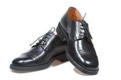 czarny buty obraz stock