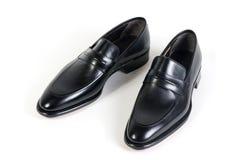 czarny buty Fotografia Stock