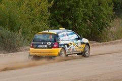 czarny c ditaliy przejażdżek Renault sochov kolor żółty Zdjęcie Stock