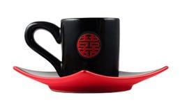 czarny chiha ustalona herbata Zdjęcia Royalty Free
