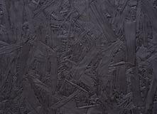 Czarny Chipboard abstrakta tło Zdjęcia Royalty Free