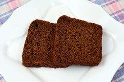 Czarny chleb Obrazy Royalty Free