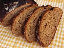 czarny chleb Obraz Royalty Free