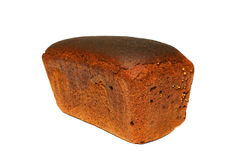 czarny chleb zdjęcia royalty free