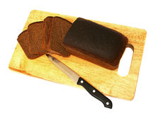 czarny chleb zdjęcie royalty free