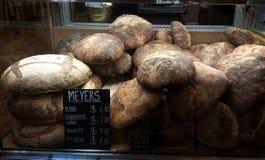 Czarny chleb dla sprzedaży Fotografia Stock