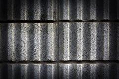 Czarny ściany cementu tekstura Fotografia Stock
