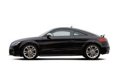czarny coupe Fotografia Stock