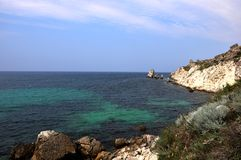 Czarny denny zachodnie wybrzeże Obraz Royalty Free