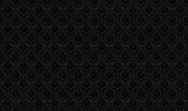 czarny deseniowa bezszwowa tapeta Obraz Stock