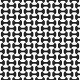 czarny deseniowy bezszwowy biel Obrazy Stock