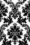 czarny deseniowy biel Zdjęcie Stock