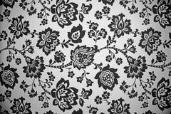 czarny deseniowy biel Fotografia Royalty Free