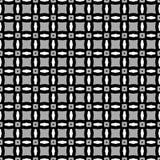 czarny deseniowy biel Zdjęcie Royalty Free