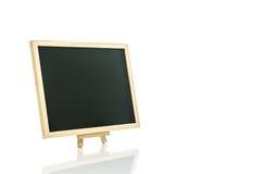 Czarny deski i tripod bielu tło Obrazy Royalty Free