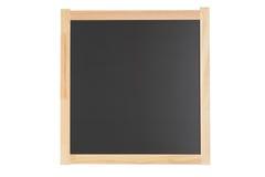 czarny deski pusta szkoła Fotografia Royalty Free