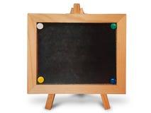 czarny deski ramy drewno Obraz Royalty Free
