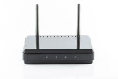 Czarny Dojazdowego punktu router obrazy royalty free