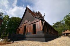 Czarny dom Fotografia Stock