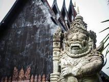 Czarny dom w północnym Chiangrai, Tajlandia Zdjęcie Stock