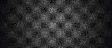 Czarny drelichowy cajg tekstury tło Obrazy Stock