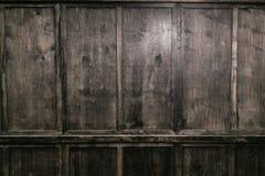 Czarny drewniany tekstury tła puste miejsce dla projekta Uwalnia przestrzeń dla twój teksta obraz royalty free