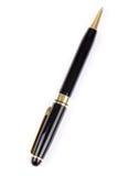 czarny długopis Obrazy Royalty Free