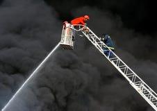 czarny dym Zdjęcia Stock